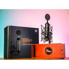 Blue Microphone Spark Blackout SL XLR Condenser Microphone for Recording *New*