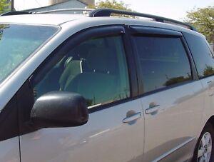 Tape-On Vent Visors for 2004 - 2010 Toyota Sienna