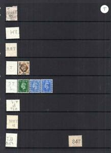 COLLECTION OF MAINLY GEORGE VI PERFINS