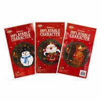 Inflatable Large Santa Reindeer Snowman Christmas Decorations Xmas Figure - 46cm