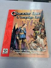 ICE Rolemaster 2nd Character Law & Campaign Law (2nd Edition, 2nd Printi SC VG+