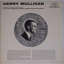 GERRY MULLIGAN: w/ PAUL DESMOND Fantasy JAZZ Canada VINYL LP VG++