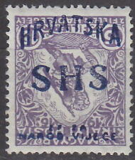 YUGOSLAVIA - 1918 ISSUE for CROATIA - INVERTED OVERPRINT !! Mi.: 60 - **MNH**