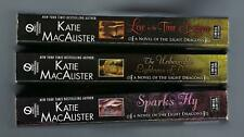 (3) KATIE MacALISTER / LOVE IN TIME OF DRAGONS, UNBEARABLE LIGHTNESS, SPARKS FLY