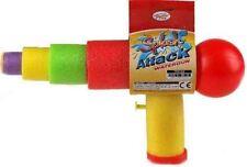 Splash Attack Water Gun Pistol Shooter Garden Fun Blast Toy Drench Cannon Soaker