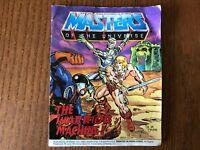 HE MAN MASTERS OF THE UNIVERSE MOTU Mini Comic The Warrior Machine