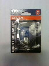 2 ampoules halogenes 55w  12v Osram Nightbreaker