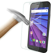Genuine Tempered Glass Screen Protector for Motorola Moto G 3rd Gen 2015 XT1540