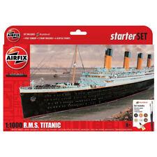 Airfix R.M.S. Titanic Model Kit Starter Set - Scale 1:1000 - A55314