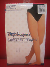 Body Wrappers C30 Children size XS/S White Full Footed Tights Dance Ballet
