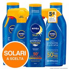 Nivea Sun Protezione Solare Alta 30 e Molto Alta 50+ Protect & Hydrate a Scelta