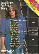 Eddie Van Halen 1991 Peavey EVH 5150 amp players ad 8 x 11 advertisement