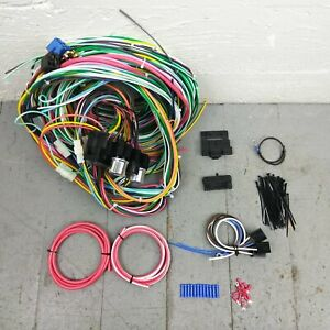 1962 - 65 Ford Fairlane and Fairlane 500 Wire Harness Upgrade Kit fits painless