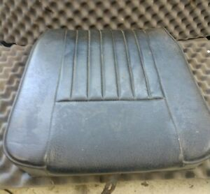Genuine Land Rover Series 3 Center Seat Base and Back Complete NO TEARS OEM-Used