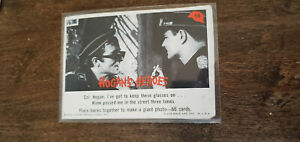 1965 FLEER HOGANS HOGAN'S HEROES CARD COL. HOGAN GLASSES ON KLINK PASSED ME # 15