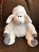 Anna Club Plush Plush Collectible Lamb white Off White Gray brown lovey sheep