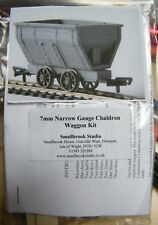 7mm Narrow Gauge Chaldron Inside Bearing Wagon Kit by Smallbrook Studio