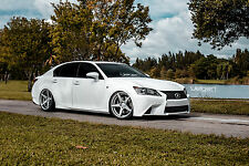 20x9 20X10.5 Velgen Classic5 5x114.3 Silver Wheel Fit LEXUS GS350 2014 STAGGERED