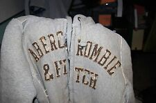 "Mens Abercrombie & Fitch Sherpa Fur Lined Hoodie sz M ""Wolf Jaw Jacket"" HOODIE M"