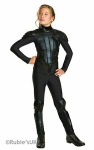 """Katniss """"The Games"""" Costume Girls Fancy Dress Outfit The Hunger Games rebel"""