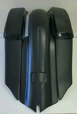 "HARLEY CUSTOM Stretched 7"" Down 14"" Back  SaddleBags PRE-HOLE Touring 2014-2016"