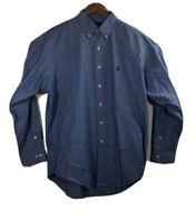 Ralph Lauren Yarmouth Men's Size 16 34-35 Pinpoint Oxford Button Down Shirt