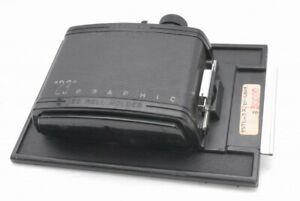 Graflex 23 Graphic 120 Roll Film Holder Back 6x9 for 4x5 *P15