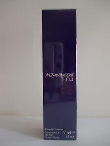Nu Yves Saint Laurent YSL Eau de Toilette Spray 30 mL (1 oz) Sealed