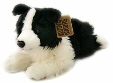 GRANDE COLLIE DOG-LIVING Nature SOFFICI Giocattolo Morbido Peluche Teddy Peluche AN263