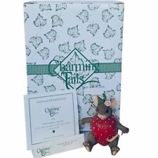 Charming Tails figurine fitz floyd Box mouse anthropomorphic Berry Special mice