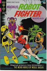 "(1972) MAGNUS ROBOT FIGHTER #30  ""The Weird World of Mogul Badur"" -- 7.0 FN/VF"