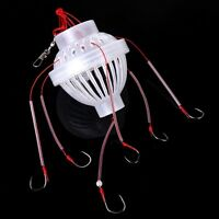 New Fishing Tackle Sea Fishing Box Hook Monsters with Six Strong Fishing Hooks