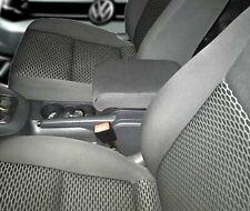 VW GOLF 6 Bracciolo regolabile TESSUTO GRIGIO SCURO portaoggetti Volkswagen Golf