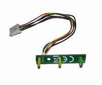 New Amiga 600 3x LED Replacement with Power Cable Connector #610