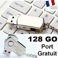 Clé USB 128 Go Gb 2.0 NEUVE Sous BLISTER Gigas PC Disk Flash Win 7 Drive Key Mac
