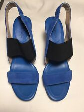 NEW Via Spiga Blue Suede NWB Size 8