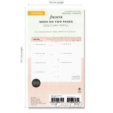 Filofax Personal 2022 Confetti Week To View Diary Refill 68491