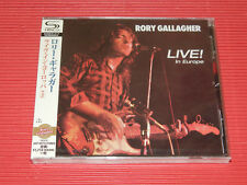 2018 JAPAN SHM CD RORY GALLAGHER Live ! In Europe with Bonus Tracks