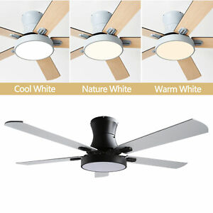 """42"""" Ceiling Fan with LED Light 3 Color /Speed Change Chandelier w/Remote Control"""