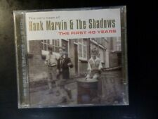 CD DOUBLE ALBUM - HANK MARVIN & THE SHADOWS - THE FIRST 40 YEARS - VERY BEST OF