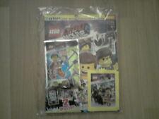 THE LEGO MOVIE 2 SONDERHEFT Nr.1 Minifigur Emmet + Stickeralbum + 5 Sticker NEU