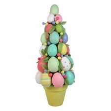 """EASTER EGG TOPIARY TREE 16 1/2"""" TALL BRAND NEW! Last 2! XLarge size Avail too!"""