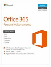 Cg Qq2-00587 Microsoft Office 365 Personal Mac Win Italian Subs