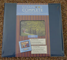 """New ~ Tapestry 12 x 12  Scrapbook COMPLETE Album """"16 Pre-Made Pages""""   FAMILY"""