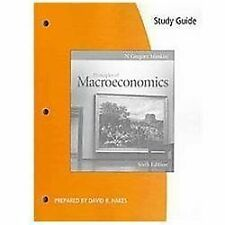 Study Guide for Mankiw's Principles of Macroeconomics, 6ht edition