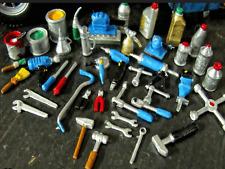 Outil Tool kit 1/18 Huile Boite Marteau Pince diorama atelier garage deco Set