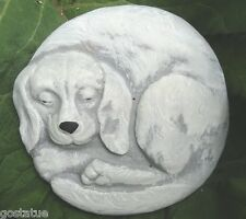 Dog plaque mold garden ornament stepping stone multi breed mould