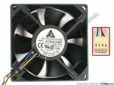 Delta Electronics DC Brushless Fan - AFB0812SH 12V DC 4pins Computer Case fan