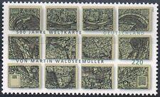 Mi.Nr. 2598 **, 2007, Weltkarte  Martin Waldseemüller