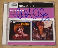 CILLA BLACK SIGNED 2x CD CILLA & CILLA SINGS A RAINBOW UACC REGISTERED DEALERS